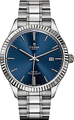 Tudor Style 12710 Blue Dial 41mm Men's Watch