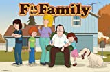 "Trends International F is for Family Murphy's Wall Poster 22.375"" x 34"""