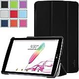 LG G Pad F 8.0 / LG G Pad 2 8.0 Case - HOTCOOL Slim New PU Leather Cover Case For LG G Pad F 8.0 (V495 V496) / LG G Pad II 8.0 LGV498 Tablet, Black