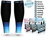 Physix Gear Sport Compression Calf Sleeves for Men