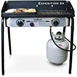 Camp Chef Expedition 2 Stove with BONUS Cast Iron Griddle