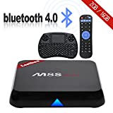2017 Leelbox M8S max Android TV Box with 2.4 RF MINI Keyboard 2GB/16GB/Android 6.0/2.4GHz/5.0GHz Dual-band WIFI/Amlogic S905X Quad Core Bluetooth 4.0/100M LAN