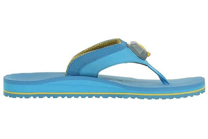 Teva Lumen Zehentrenner Damen Sandale Badeschuhe m. Licht LED 4085 blau, Schuhgröße:EUR 40