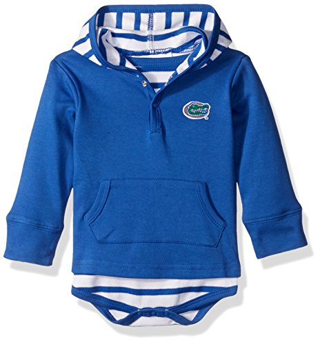 Two Feet Ahead NCAA Florida Gators Children Unisex Stripe Hooded - Florida Gators Ncaa Stripes