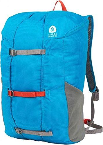 Sierra Designs Flex Summit 18L-23L Hiking Pack (Caribbean/Smoked Pearl)