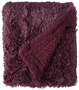 "Chanasya Super Soft Shaggy Longfur Throw Blanket - Snuggly Fuzzy Faux Fur Lightweight Warm Elegant Cozy Sherpa - for Couch Bed Chair Sofa Daybed - 50""x 65"" - (Machine Washable) - Solid Color from PurchaseCorner"