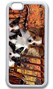 Cut Dog Pet Case for iPhone 6 TPU White by Cases & Mousepads wangjiang maoyi by lolosakes