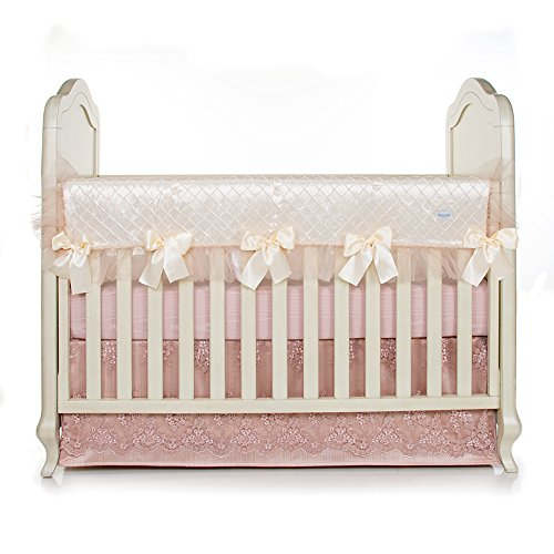 Glenna Jean Remember My Love Convertible Crib Rail Protector, Long
