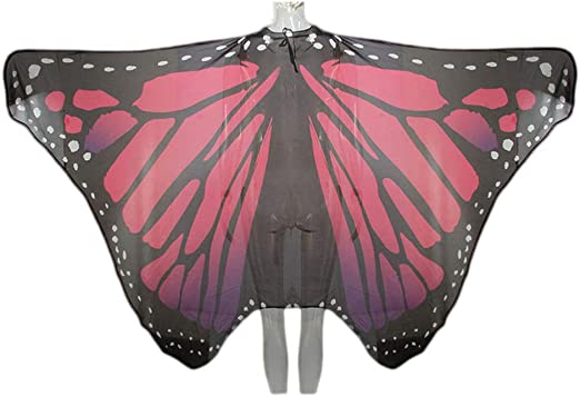 STOBOK Alas de Mariposa Mascarada Performance Cosplay Disfraz ...