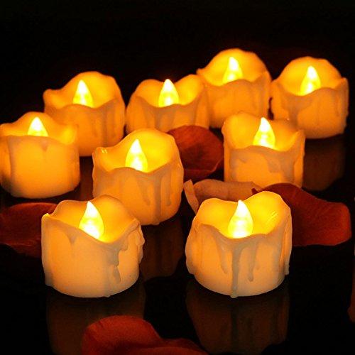 Flicker Led Candle Lights - 6