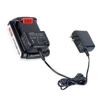 Amazon.com: Misszhang-US - Cargador de batería de litio para ...