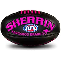 Sherrin AFL Super Soft Touch Football Neon Pink Size 3