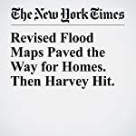 Revised Flood Maps Paved the Way for Homes. Then Harvey Hit. | John Schwartz,James Glanz,Andrew W. Lehren