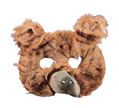 Rubie's Plush Animal Mask, Brown, One Size