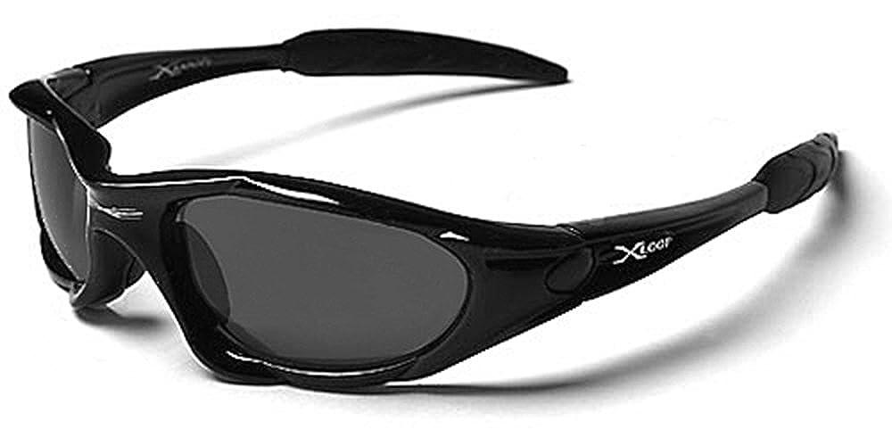 Occhiali da Sole X-Loop - Sport - Ciclismo - Sci - Driving - Moto - Arrampicata / Mod. 1002 Nero Xloop