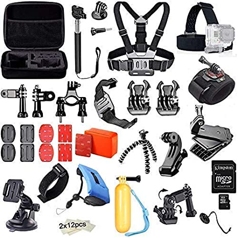 MadridGadgetStore® Kit Pack de Accesorios Completo para Cámaras de ...