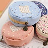 NPLE--Cute Round Women Girl Canvas Coin Purse Portable Review and Comparison