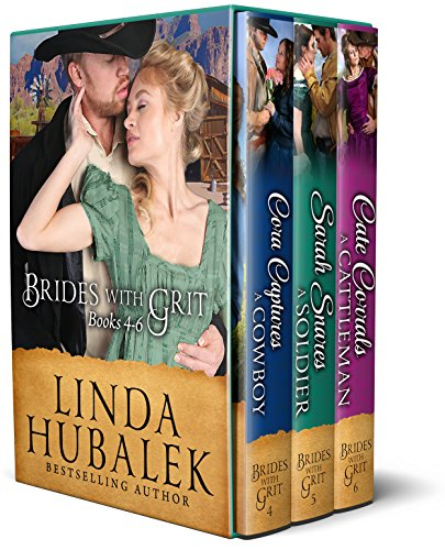 Brides with Grit Series, Books 4-6 (Brides with Grit Box Set Book 2) (Pioneer Woman Season 5)