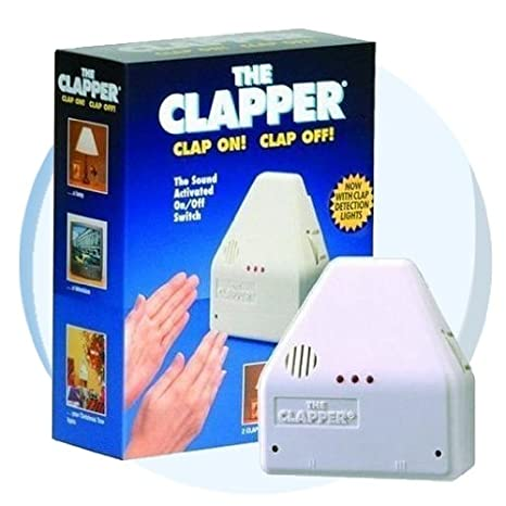 Charming The Original Clapper Sound Activated On / Off Switch, Clap On! Clap Off! Home Design Ideas