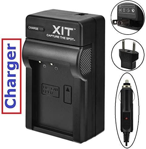 Hi Capacity 2-Pcs LP-E17 Li-Ion Battery With Charger For Canon EOS Rebel T6i T6s