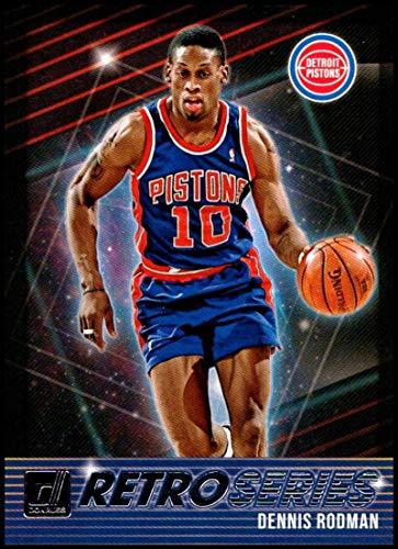 2018-19 Donruss Retro Series #22 Dennis Rodman NM-MT Detroit Pistons Official NBA Basketball Card
