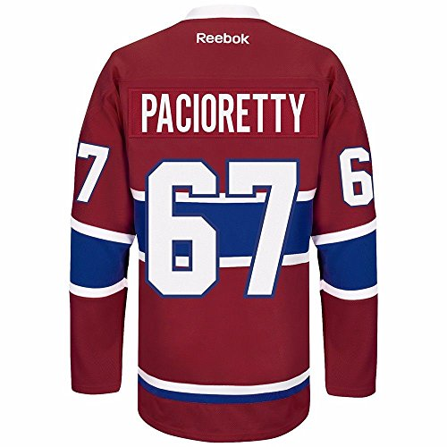 Max Pacioretty Montreal Canadiens Reebok Premier Home Jersey NHL Replica (Montreal Canadiens Replica Jersey)