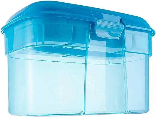 D-YYBB Caja de Almacenamiento, De plástico Transparente Caja de ...