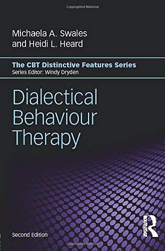 Dialectical Behaviour Therapy  CBT Distinctive Features