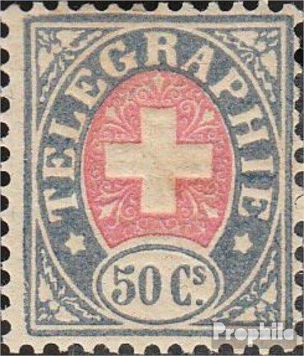 nuevo listado Prophila Collection Suiza T10 1877 Sellos de telégrafos (Sellos para para para los coleccionistas)  muchas sorpresas