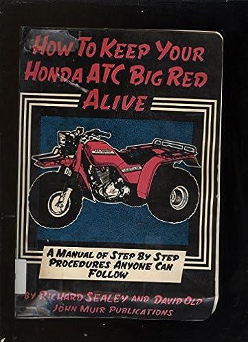 1984 Honda 200es Manua