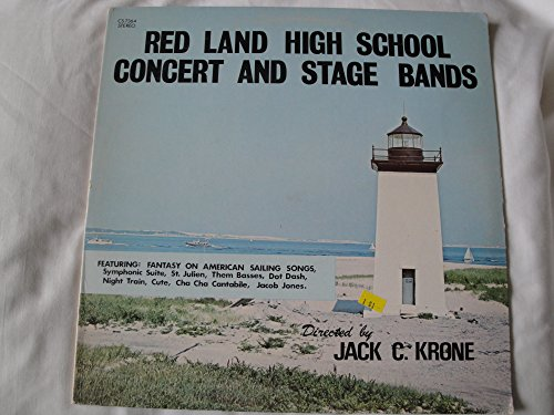 Red Land High School Concert & Stage Bands Vinyl Lp Directed by Jack C. Krone Baldwin Sound Productions CS 7364 Stereo