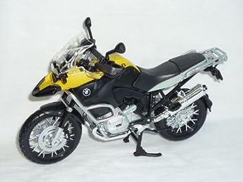 Maisto Bmw R1200gs R1200 R 1200 Gs Schwarz Gelb 1 12 Motorradmodell
