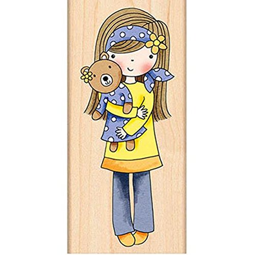 Penny Black Decorative Rubber Stamps, Mindy by Penny Black Inc