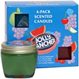 Jolly Rancher by Hanna's Candle 00100484 4-Pack Jolly Rancher Sampler Candle