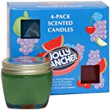 Jolly Rancher by Hanna's Candle 00100484 4-Pack Sampler Candle
