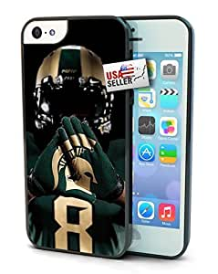 Michigan State Spartans Cell For SamSung Galaxy S5 Phone Case Cover Hard Protection For SamSung Galaxy S5 Phone Case Cover and 5s