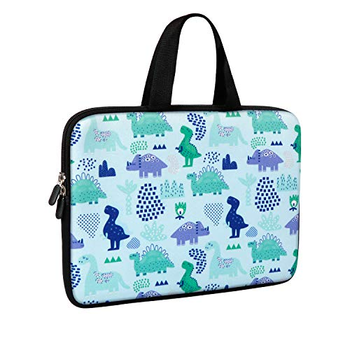 iCasso Stylish Neoprene Ultrabook Dinosaur