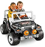 Fisher-Price Power Wheels Tough Talking Jeep Wrangler