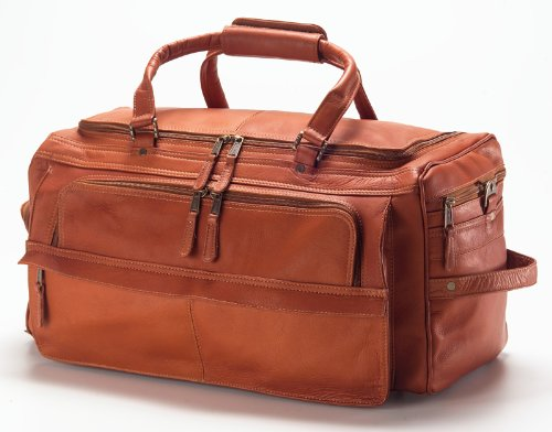(Clava Multi-Compartment 19 Duffel - Vachetta Tan)