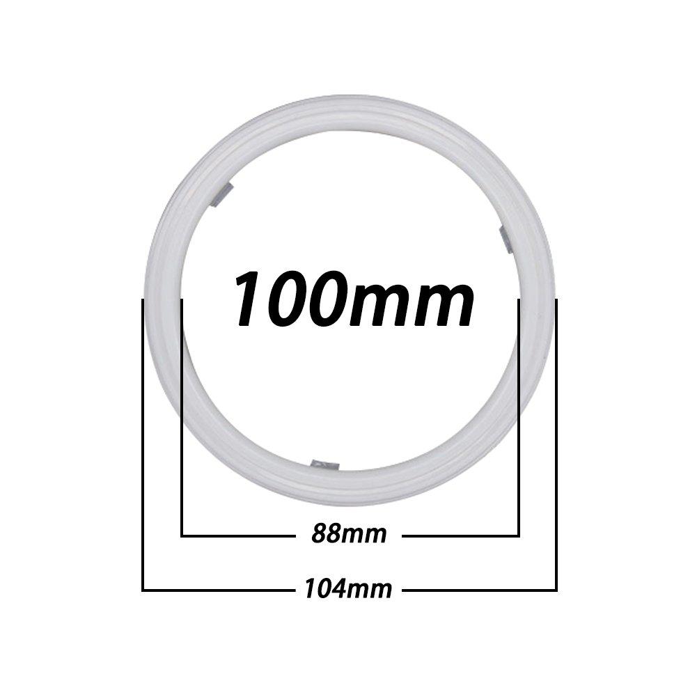 Taben intermitente 1 juego de luces LED 3020 de 60 mm con cambio de blanco a /ámbar ojos de /ángel 36SMD