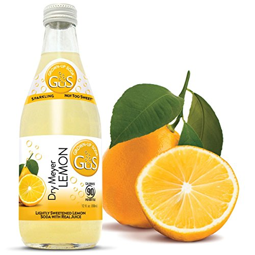 GuS - Grown-up Soda, Dry Meyer Lemon, 12 Fluid Ounce (Pack of - Napa Ca Stores In