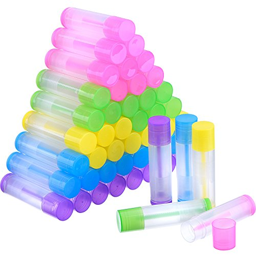 Colored Lip Balm Tubes - 1