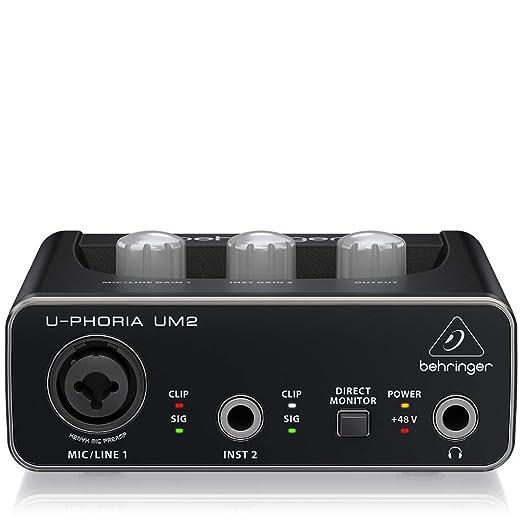 Behringer UM2 equipo de música adicional - equipos de música adicionales
