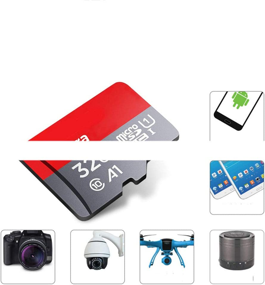 Suitable for Card Speakers PSP Game Console MP4 Camera Digital Memory Card SLR OMJNH Flash Memory Card 2 Sheets - 64GB MP3