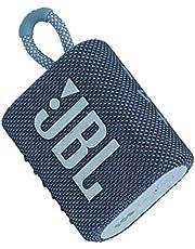 JBL GO 3 Portable Waterproof Bluetooth Speaker - Blue