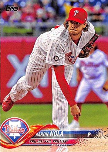 2018 Topps #11 Aaron Nola Philadelphia Phillies Baseball Card