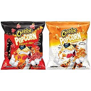 Cheetos Popcorn, Cheddar & Flamin' Hot Variety Pack, 0.625oz Bags (40 Pack)