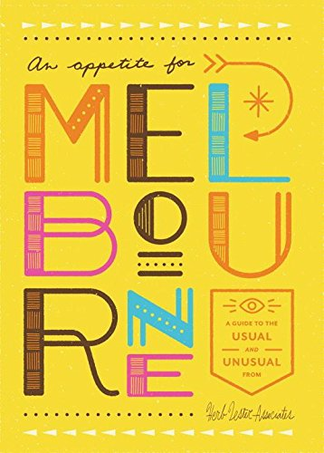 An Appetite for Melbourne: A Guide to the Usual & - Map Central Melbourne
