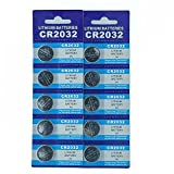 SkoTeRy CR2032 3V Lithium Battery Bulk CR 2032 Coin Cell(4x5 Pack)