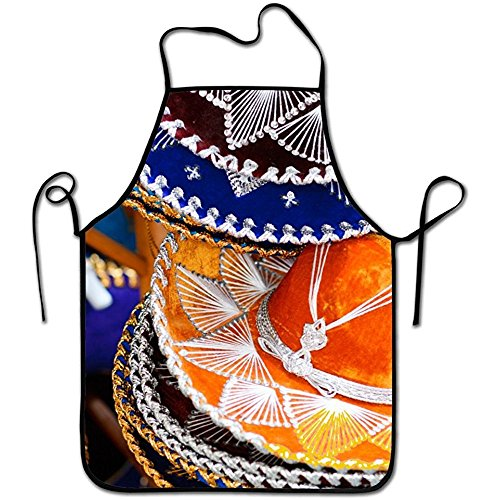 Starboston Waist Adjustable Professional Kitchen Apron-Festival Travel Mexican Igorsin -Woman Aprons Comfortable Perfect For Cooking Guide by Starboston